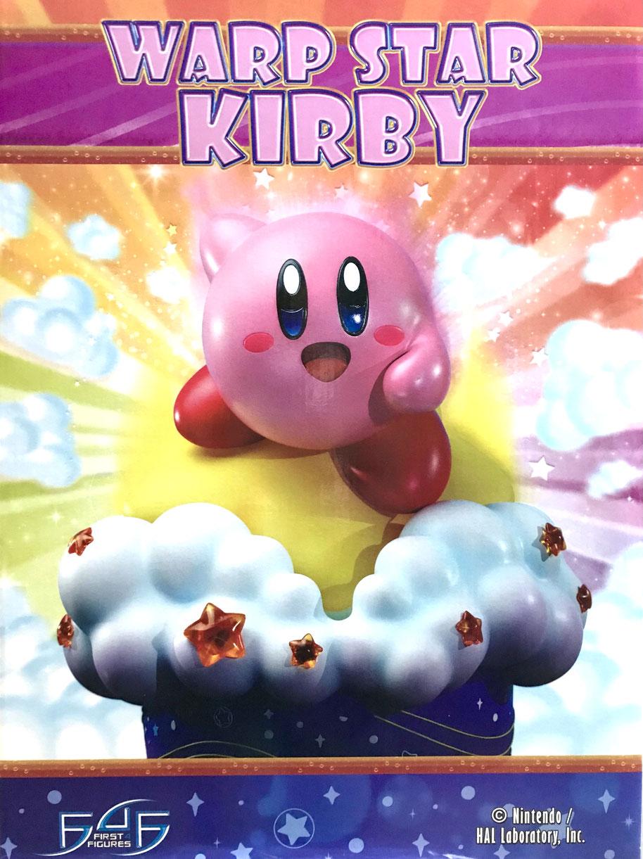 Warp Star Kirby 30cm Kirby Resin Nintendo Smash Bros Game Statue First 4 Figures