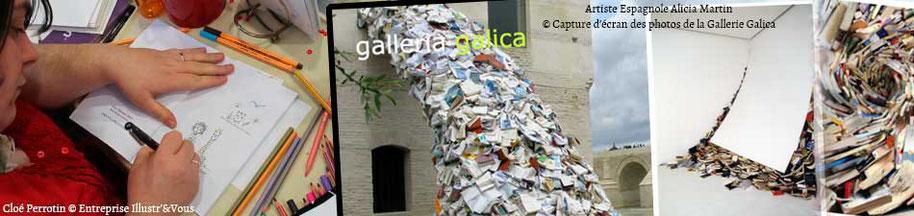 Article débat sur l'impact des livres, sur le BLOG : la Bulle Ludique Originale Gratuite avec l'artiste Espagnole Alicia Martin