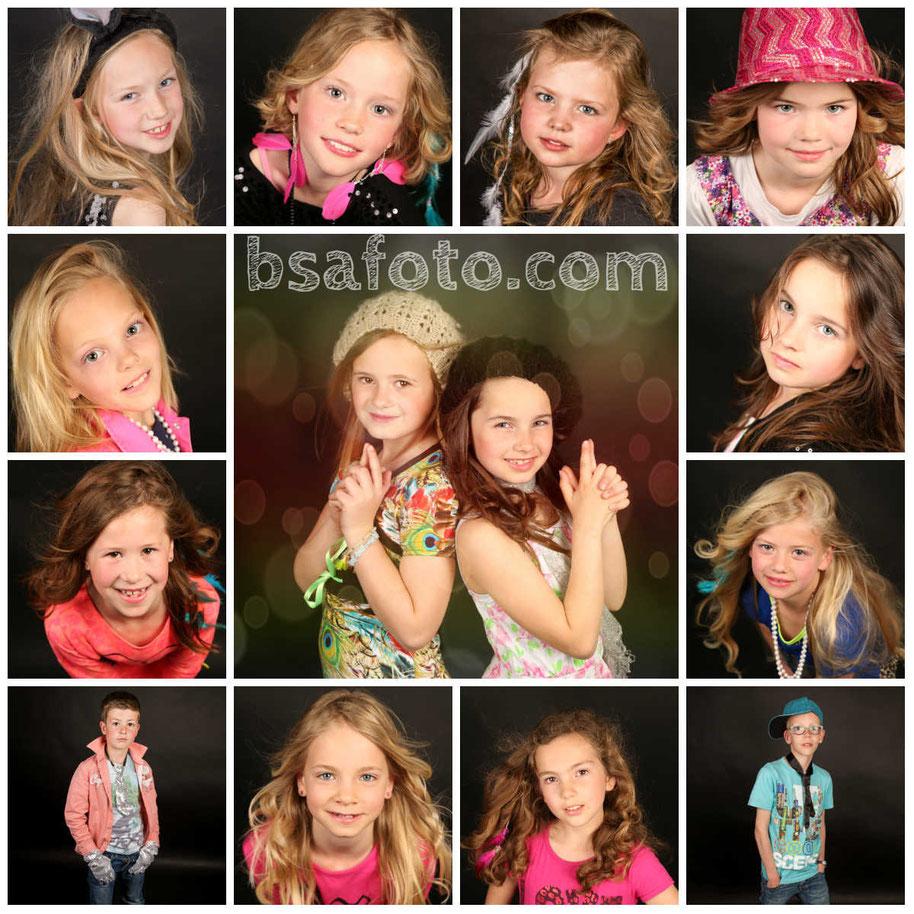 Glamour Fotofeest kinderfeestje . make up . bsafoto.com