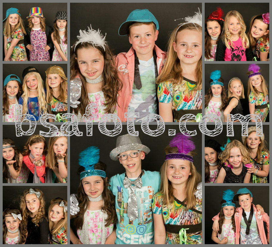 fotoshoot by bsafoto . glamour fotofeest kinderfeestje make up