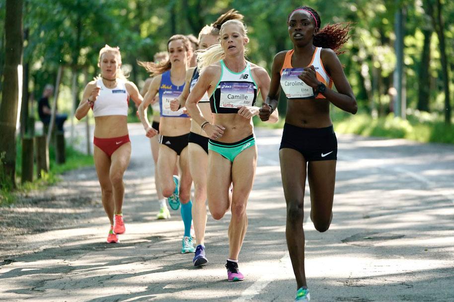 Frauenlauf Wien 2019 Caroline Makandi Gitonga (KEN) Camille Buscomb (NZL) Tara Palm (AUS) Julia Mayer DSG Wien Beste Österreicherin Schnabl Dippmann Pauer Nada