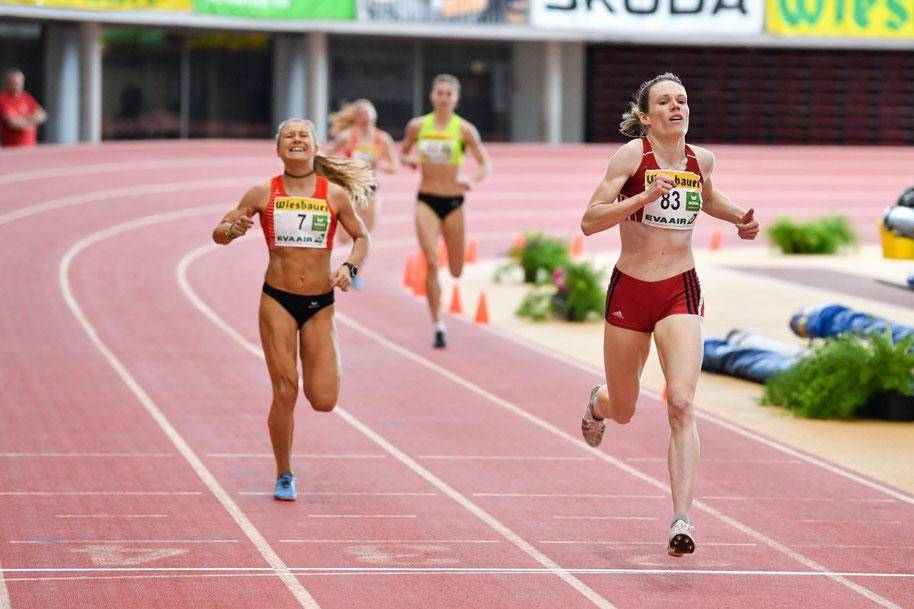 Julia Mayer vize staatsmeisterin sadrına illes 1500 meter wien dsg austrian athletics