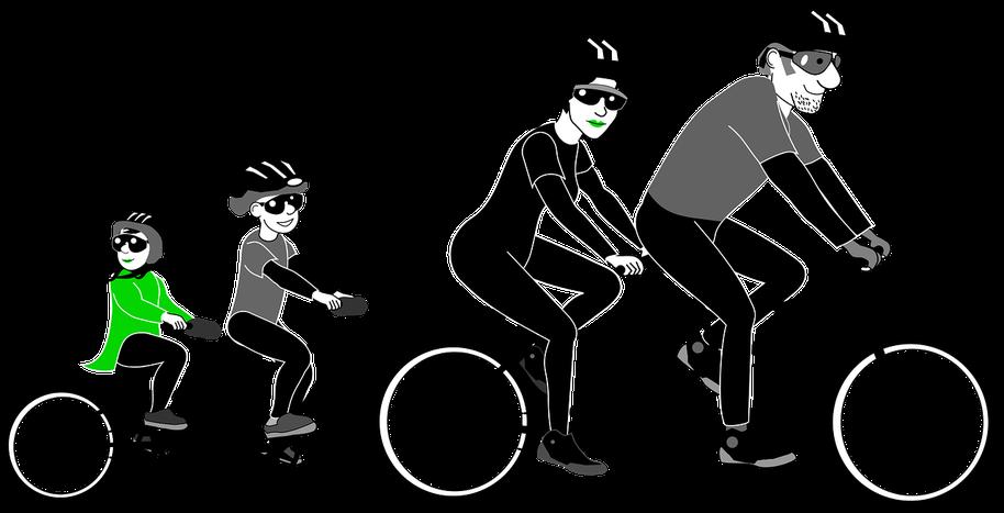 assurance santé famille vélo bicyclette homme femme couple comparateur enfant comparatif comparaison casque protection mutuelle mutuel