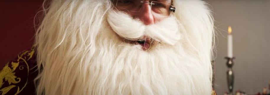 Zu sehen: Ein Mann mit dickem weißen Bart und rot-goldenem Bischofsgewand  (Foto: http://www.bischof-nikolaus.de)