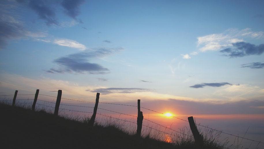 euskadi bigousteppes coucher soleil ciel