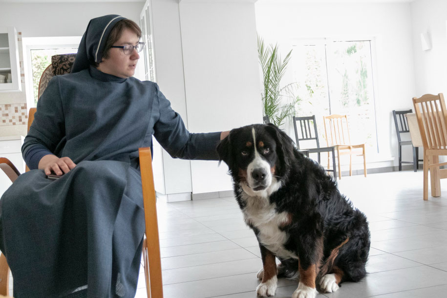 Sesuo Paulina su dar viena vienuolyno gyventoja