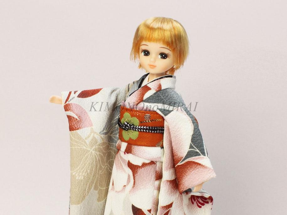 リカちゃん 着物,ブライス 振袖,人形 着物,Blythe kimono