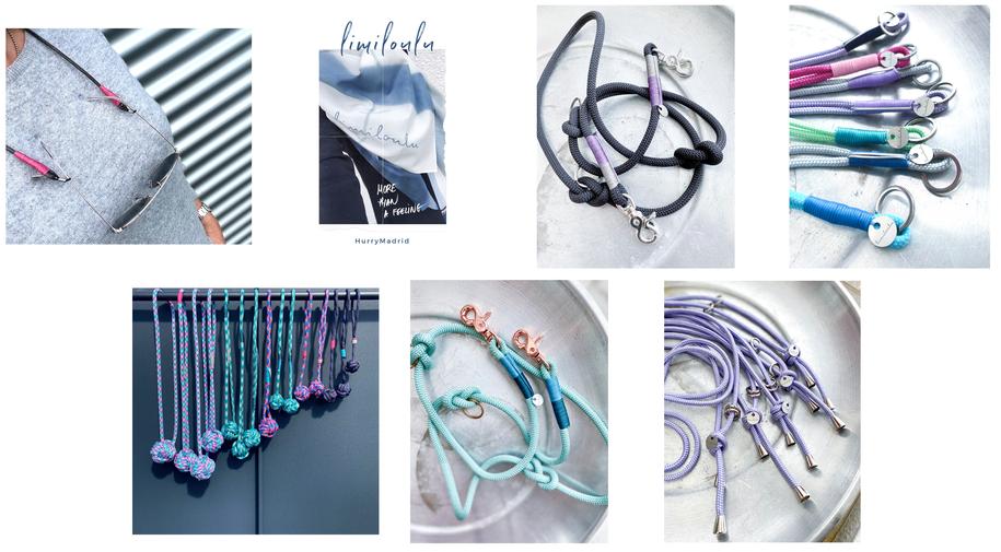 limiloulu LIFESTYLE & DESIGN | Accessoires für Mensch & Hund | Brillen-, Schlüssel- und Natelbänder | Hundeleinen + Affenfäuste | Schals + Foulards | handmade with Love | Zürich