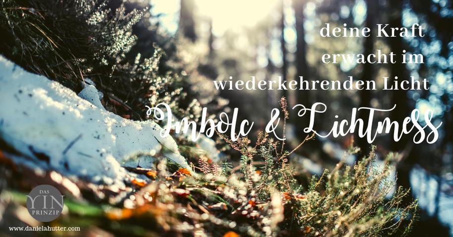 Imbolc und Lichtmess. Feste des Frühlings in der Tradition des alten Wissens. Spirituelle Bedeutung der Zeitqualität.