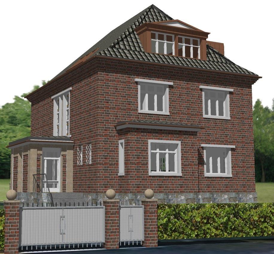 bild 2 : visualisierung eingangsseite-zaps-bockhaus-odenthal architekten münster, architektur immobilien design interior