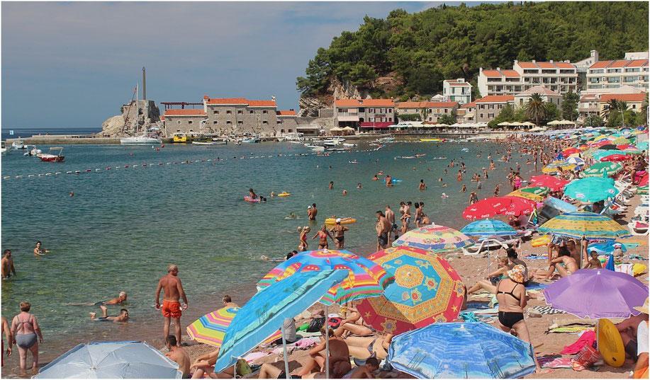 plage montenegro été 2012