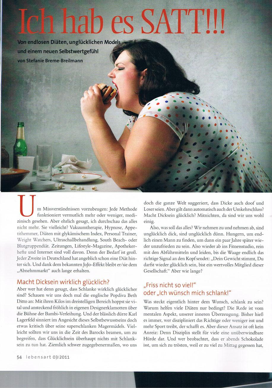 Selbstwertgefühl ohne Diät in Hamburg