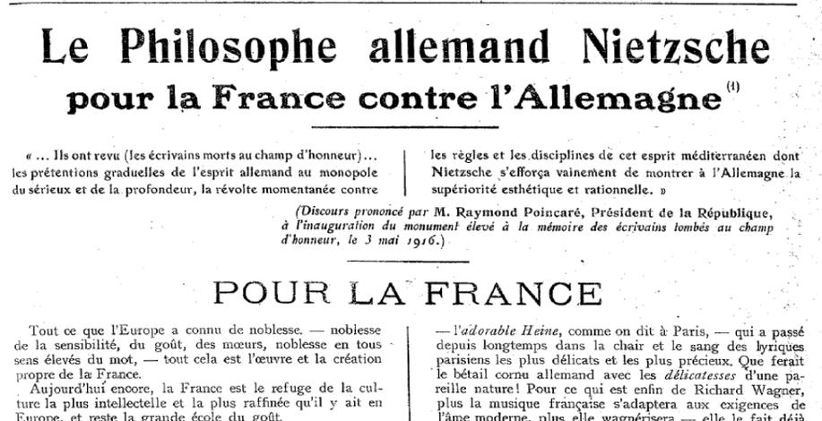 La Renaissance, 13 mai 1916