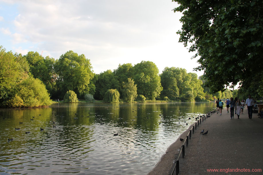 Die besten Parks in London: St. James's Park