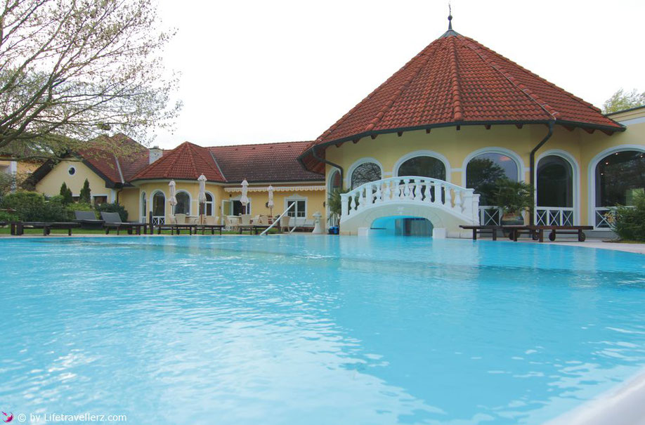 Außenbereich der Vila Vita Pannonia