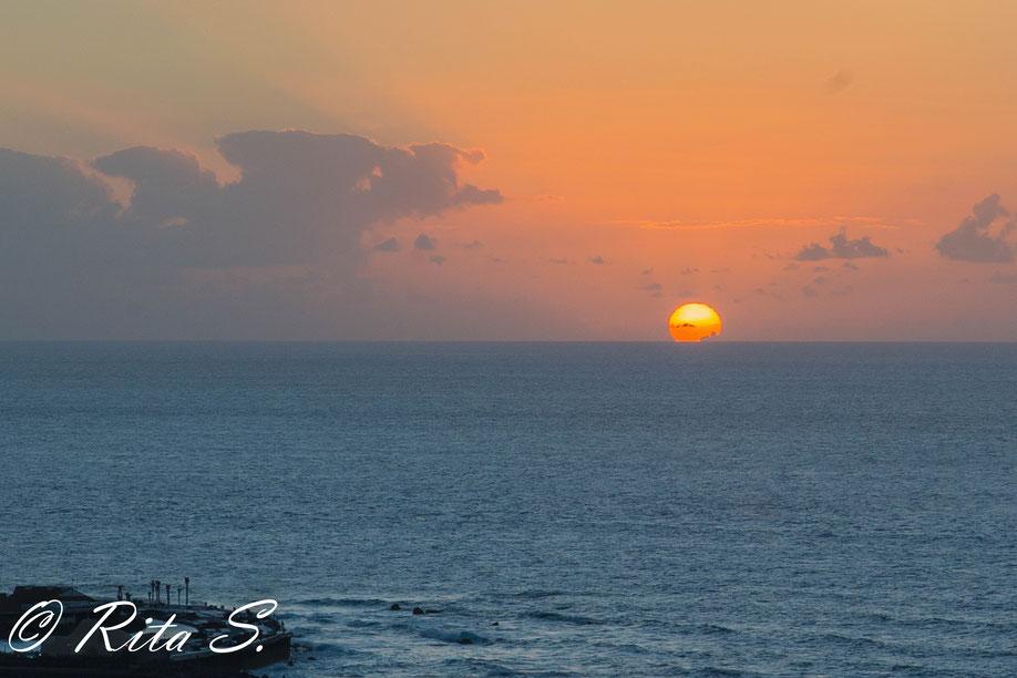 Sonnenuntergang im Norden Teneriffas (Puerto de la Cruz)