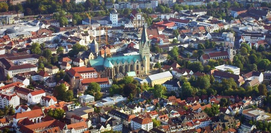 Paderborn von oben (Foto: pixabay)