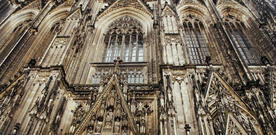 Fassade vom Kölner Doms