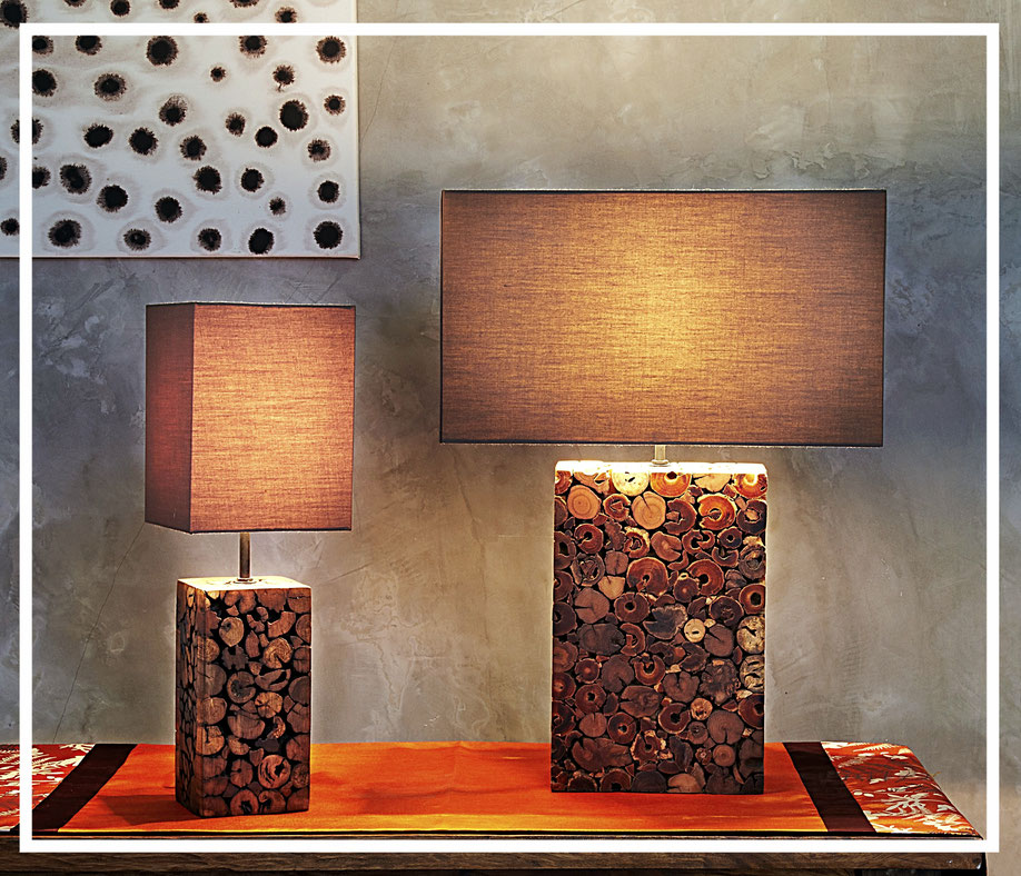 Mosaik Tischleuchten von O'thentique - Lampen online kaufen bei Lebenswerte.
