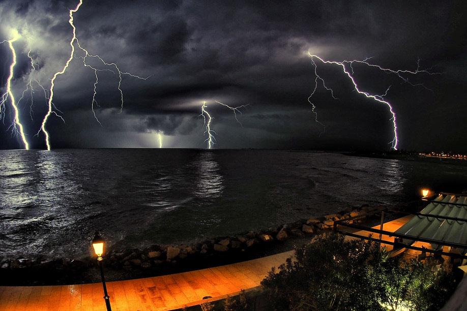 Gewitter über Grado