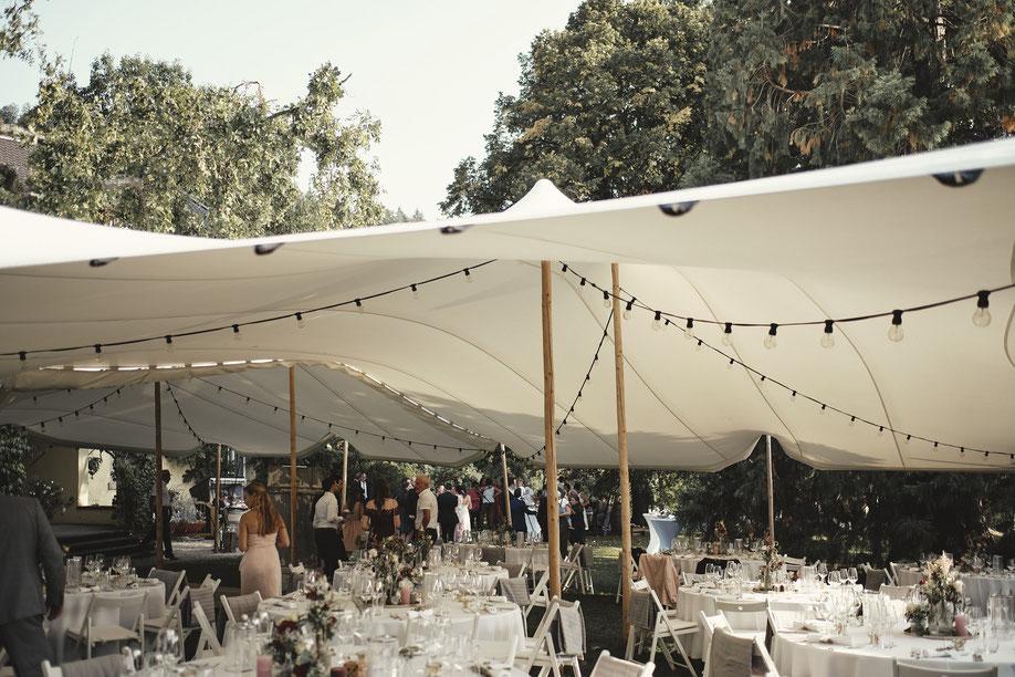 Hochzeitszelt mieten im Allgäu - Strechrent