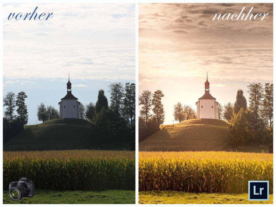 """Digitale Bildbearbeitung mit Lightroom-Preset """"Sonne und Wärme"""" (von Remo Peer - Fotografie & Design)"""