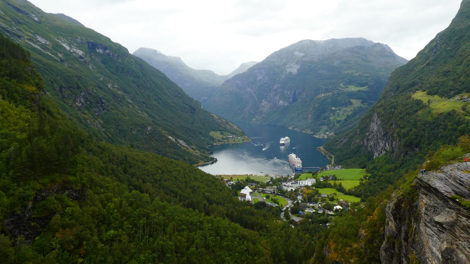 Roadtrip Norwegen Geirangerfjord