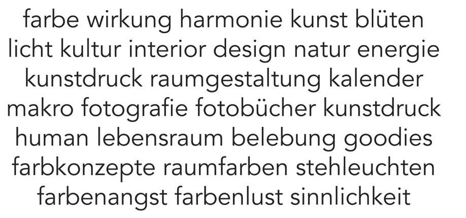 Farbmanufaktur broinger. steht für Farbwissen und Produkte in Farben.