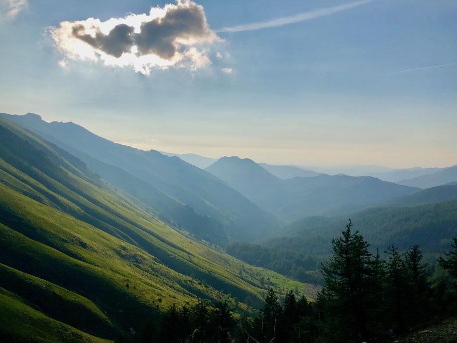Berghuhn.de, Frankreich, Via del Sale, Ligurische Grenzkammstrasse