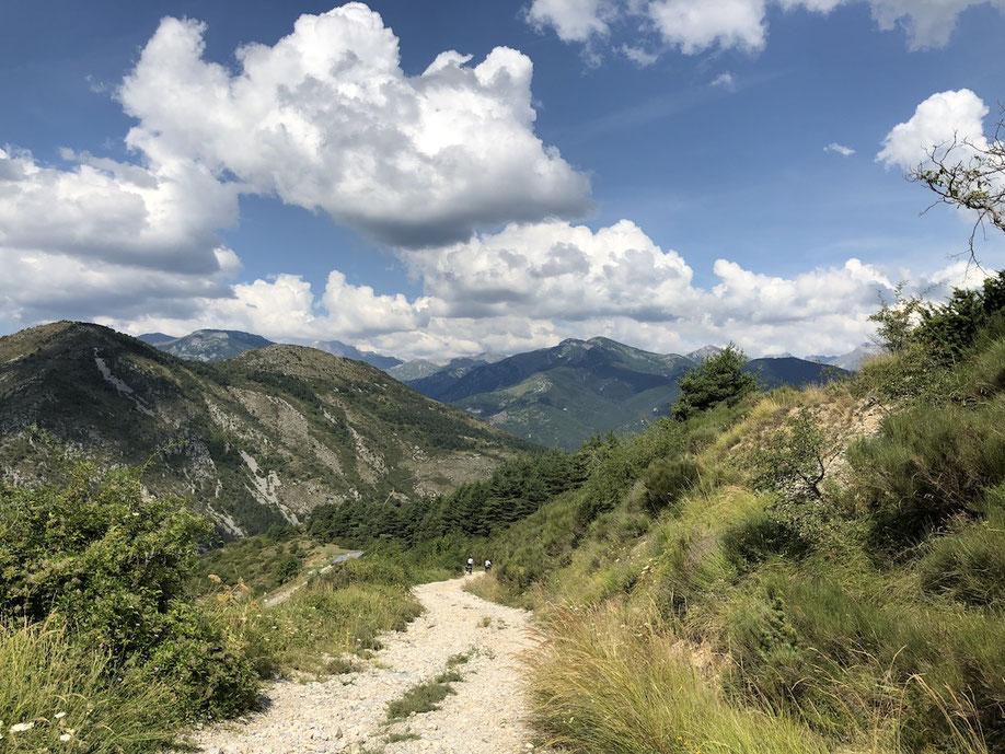 Berghuhn.de, Frankreich, La Brigue, Via del Sale, Ligurische Grenzkammstrasse