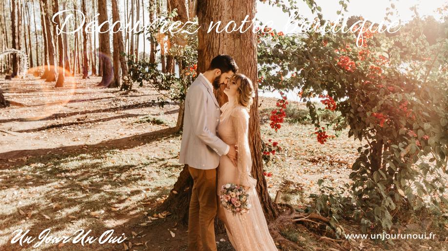 La boutique de mariage et du PACS Un Jour Un Oui