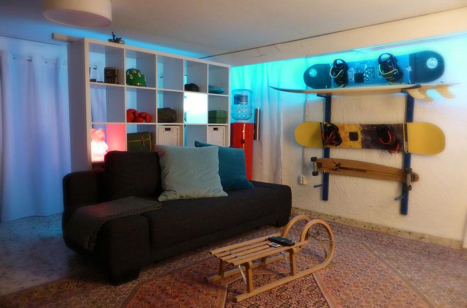 So kann der Keller zum gemütlichen Gästezimmer werden!