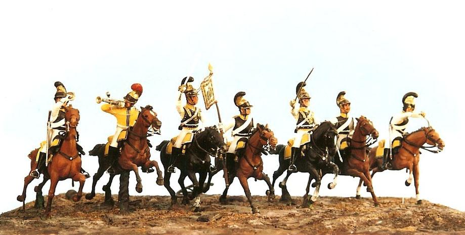 Kürassierregiment von Zastrow in der Schlacht bei Borodino am 26. August / 7. September 1812
