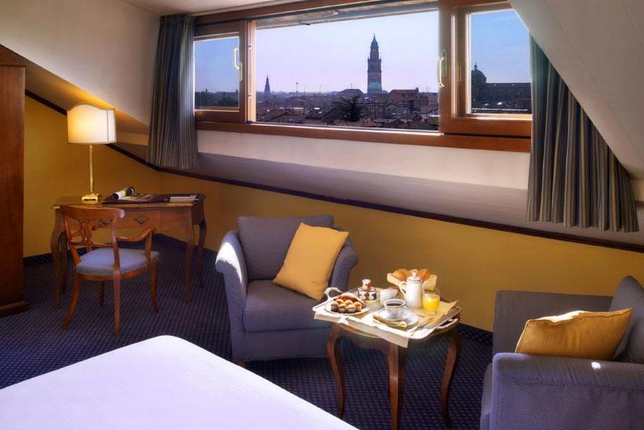 Parma Golf Hotel Ferien Italien Turm Golfpakete