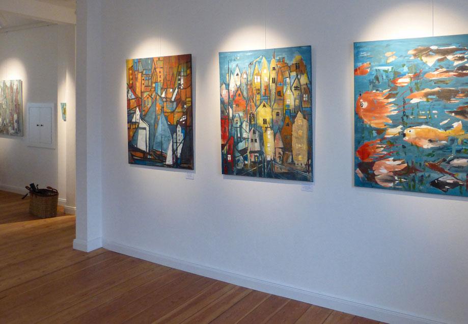 Monika Krömer Malerei - Ausstellung im Freya-Frahm-Haus