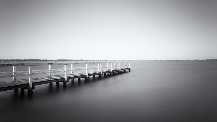 Zwischenahner Meer (Copyright Martin Schmidt, Fotograf für Schwarz-Weiß Fine-Art Architektur- und Landschaftsfotografie aus Nürnberg)