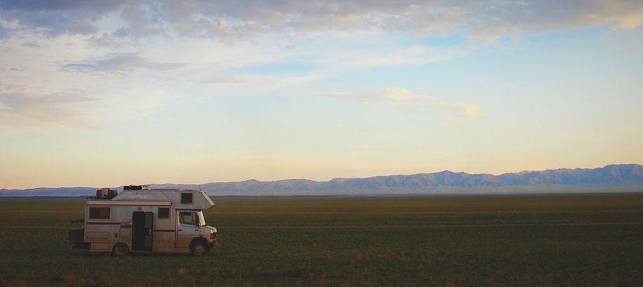 bigousteppes mongolie camion mercedes route