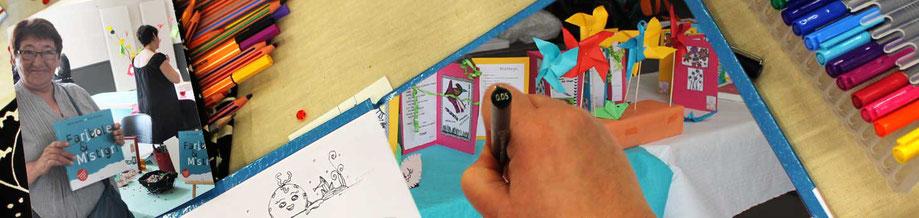 L'illustratrice Cloé Perrotin vous présente la rétrospective du Salon le Printemps des Plumes de Fleury-la-Vallée 2017