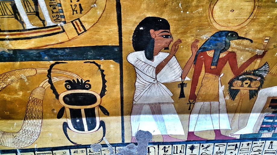 TT359, la Tomba di Inherkhau - Deir el Medina
