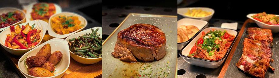 Barbecue, Special Cuts, Steaks vom Grill, Beilagen, Gemüse