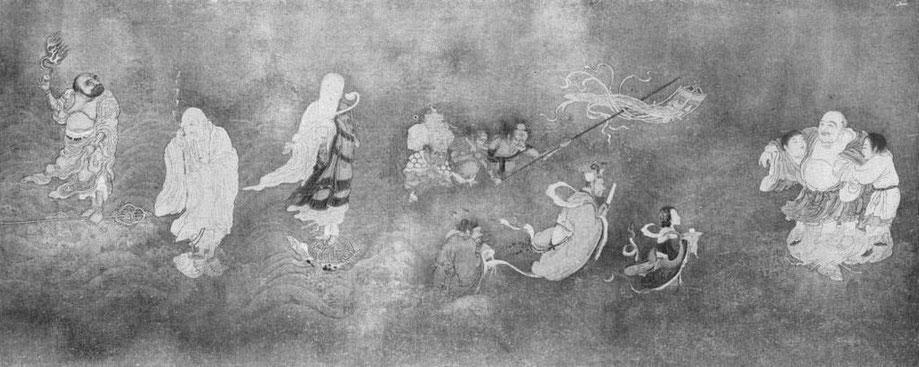 """La peinture chinoise au musée Guimet, par Albert Maybon (1878-). Revue d'art ancien et moderne """"L'Art et les artistes"""", Paris, n° 103, octobre 1913. Fig. 3."""