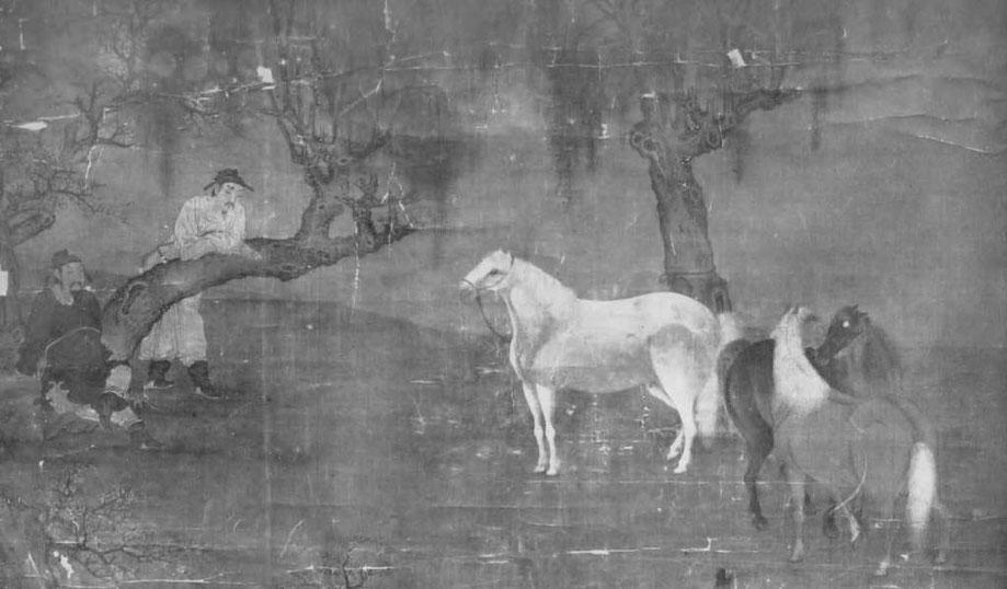 """La peinture chinoise au musée Guimet, par Albert Maybon (1878-). Revue d'art ancien et moderne """"L'Art et les artistes"""", Paris, n° 103, octobre 1913. Fig. 2."""