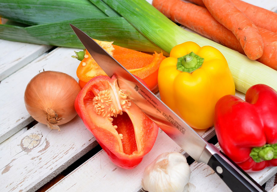 Ernährungs App vom Ernährungscoach, der Salat