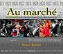 livre au marché paysan de détail en Haute-Loire