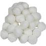 Pompoms weiß, 10 mm