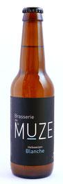 Bière blanche, wheat ale, Brasserie de la Muze.