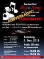 Chorkonzert 1.12.2018 Sing'n'Swing