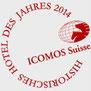ICOMOS Suisse, Logo Hotel des Jahres, Hirschen Oberstammheim