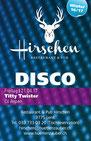 Bar Disco Hirschen Lenk, 21. April 2017, DJ Aspen, Ausgang
