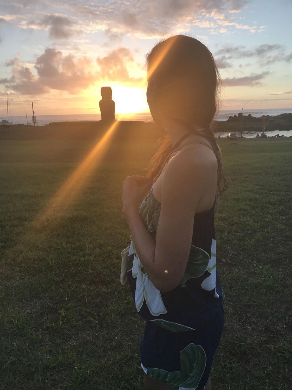 Völlig geflasht: Vom Sonnenuntergang, der Mystik der Osterinsel und von den Moais